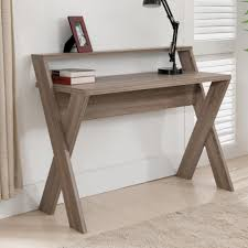 furniture of america parker 2 tier desk create a beautiful