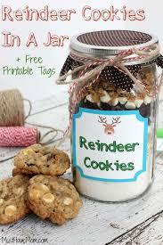 reindeer cookies in a jar recipe
