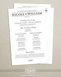 modern wedding programs the 25 best modern wedding program ideas on