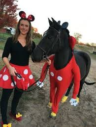 Halloween Costume Minnie Mouse Minnie Mickey Mouse Horse Costume Dress American Quarter