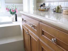 Kitchen  Kitchen Cabinet Hardware For Oak Cabinets With Square - Kitchen cabinets knobs