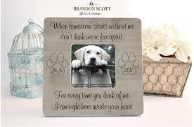 loss of dog pet loss pet memorial memorial frame pet memorial frame