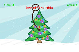 impossible test christmas turn off the lights game solver