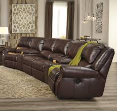 Theater Sofa Recliner Collinsville 6 Power Recline Theater Seating By