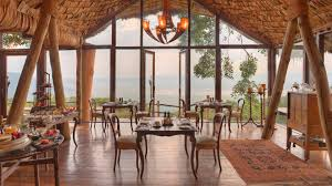Crater Lake Lodge Dining Room Andbeyond Ngorongoro Crater Lodge Great Migration