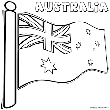australian flag coloring pages coloring pages to download and print