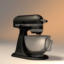 Kitchen Aid Mixers by 3d Model Kitchen Aid Mixer Cgtrader