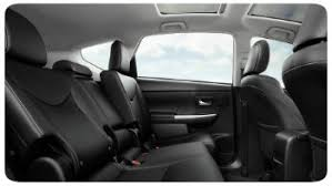 toyota prius moonroof 2017 toyota prius v seating options