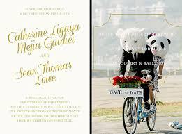 lowe and catherine giudici s humorous save the date wedding