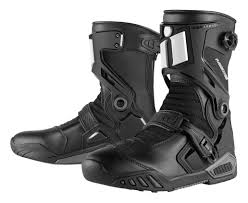 high top motorcycle boots icon raiden dkr boots revzilla