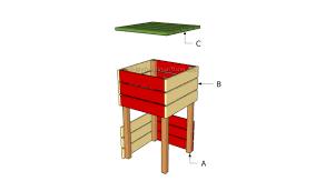 pallet bar stool plans myoutdoorplans free woodworking plans