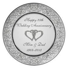 anniversary plates 25th wedding anniversary plates gift ideas bethmaru