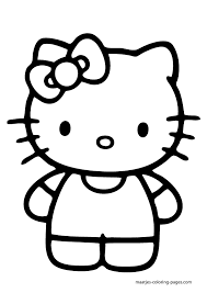 large kitty coloring pages download print free print