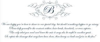 Poem For Wedding Bathroom Basket Tara Getting Married Bathroom Basket