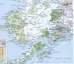 Willow Alaska Map by Lake Clark National Park
