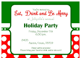 escamilla designs holiday party invite