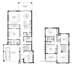 fine 2 story house floor plans and elevations basic two home