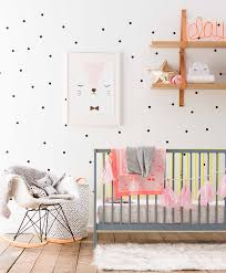 Grey And Pink Nursery Decor by How To Have Fun With Polka Dot Decor Diy Projects Homesthetics
