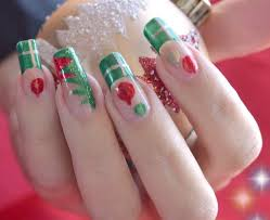 50 christmas nail art designs and trends 2016 u2013 page 3 u2013 inspiring