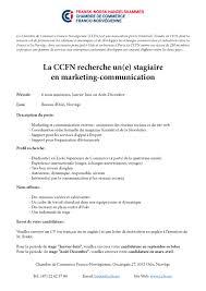 description d une chambre en anglais ccfn offre de stage marketing communication chambre de commerce