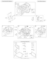 briggs and stratton 310707 0137 e1 parts diagram for cylinder