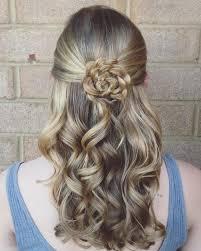best 25 flower bun ideas on braided buns waterfall