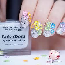 piggieluv fantasy garden nail art