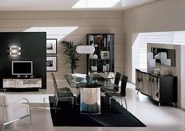 Wenge Living Room Furniture Waves Collection Modern Luxury Dining Table
