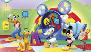york wallcoverings walt disney kids ii mcky friends clbhse capers walt disney kids ii mcky friends clbhse capers wall mural