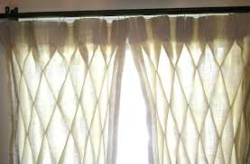 Smocked Burlap Curtains Smocked Curtain Presscast Co