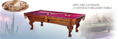 connelly billiard tables