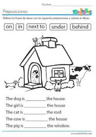 grade 2 grammar lesson 16 prepositions places to visit