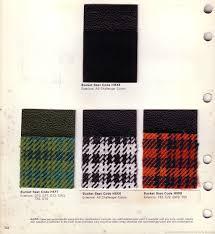Dodge Challenger Colors - the 1970 hamtramck registry 1971 dodge color u0026 trim book