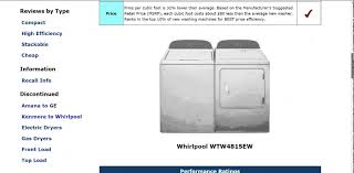 whirlpool wtw4815ew top load washer review updated youtube