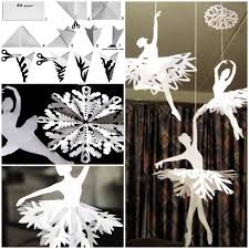 how to make snowflake ballerinas