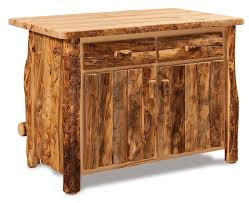 aspen kitchen island rustic aspen kitchen island bar