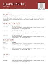 top resume templates top cv templates we listed the best 10 resume templates