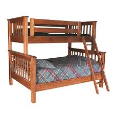 Bunk Bed Wooden Bunk Bed Solid Wood Bunk Bed Amish Made Bunk
