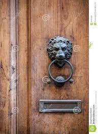 decorative door knocker stock photo image 39781582