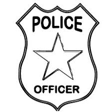 print coloring image police police community helpers and fire