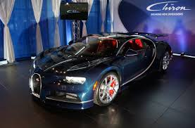 first bugatti the new bugatti chiron first canadian showing