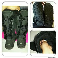 ugg bailey bow sale size 7 30 ugg boots authentic ugg black bailey bow boots
