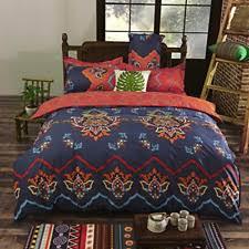 Queen Duvet Cover Sets Vaulia Duvet Cover Set Bedding Bohemia Exotic Patterns Reversible