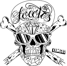 sugar skull coloring pages getcoloringpages com