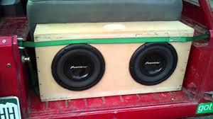 jeep wrangler speaker box jeep yj sub box