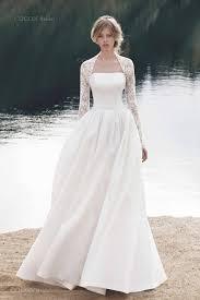 wedding dresses with bolero winter wedding dress designer wedding dress gown modern