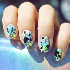28 best splatter paint nails images on pinterest splatter paint