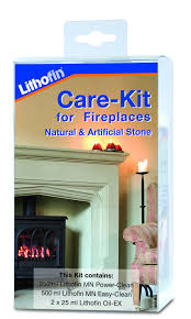 maintenance kit for natural and artificial stone fireplaces sole
