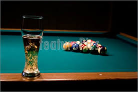 glass of beer on the pool table stock photo i1468736 at featurepics