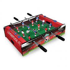 table top football games lfc 20 inch table top football game liverpool fc official store